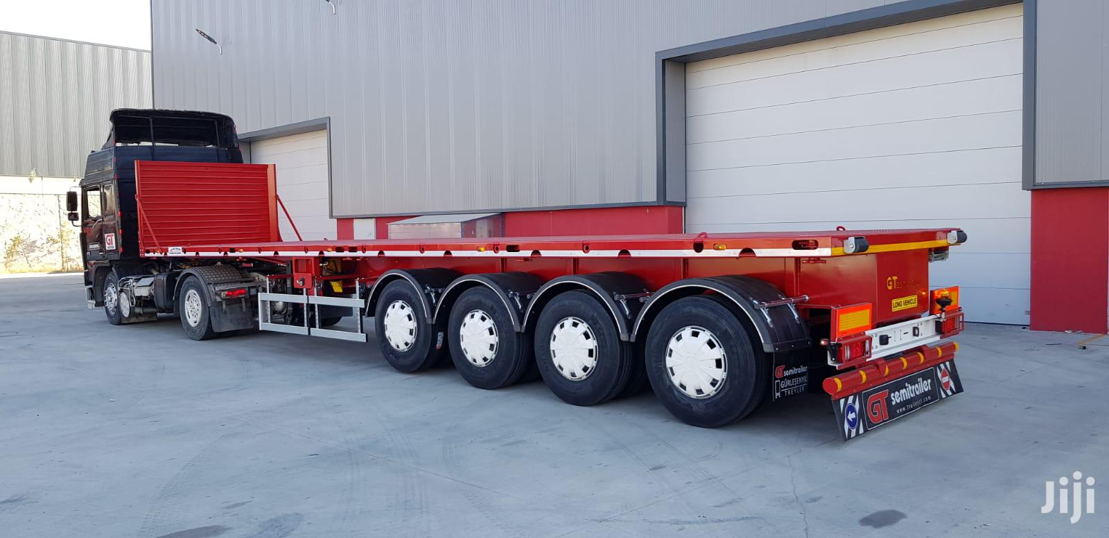 Archive: Heayv Duty Flatbed Semi Trailers