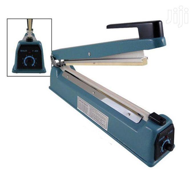 SF-400 Rubber Sealing Machine - Blue