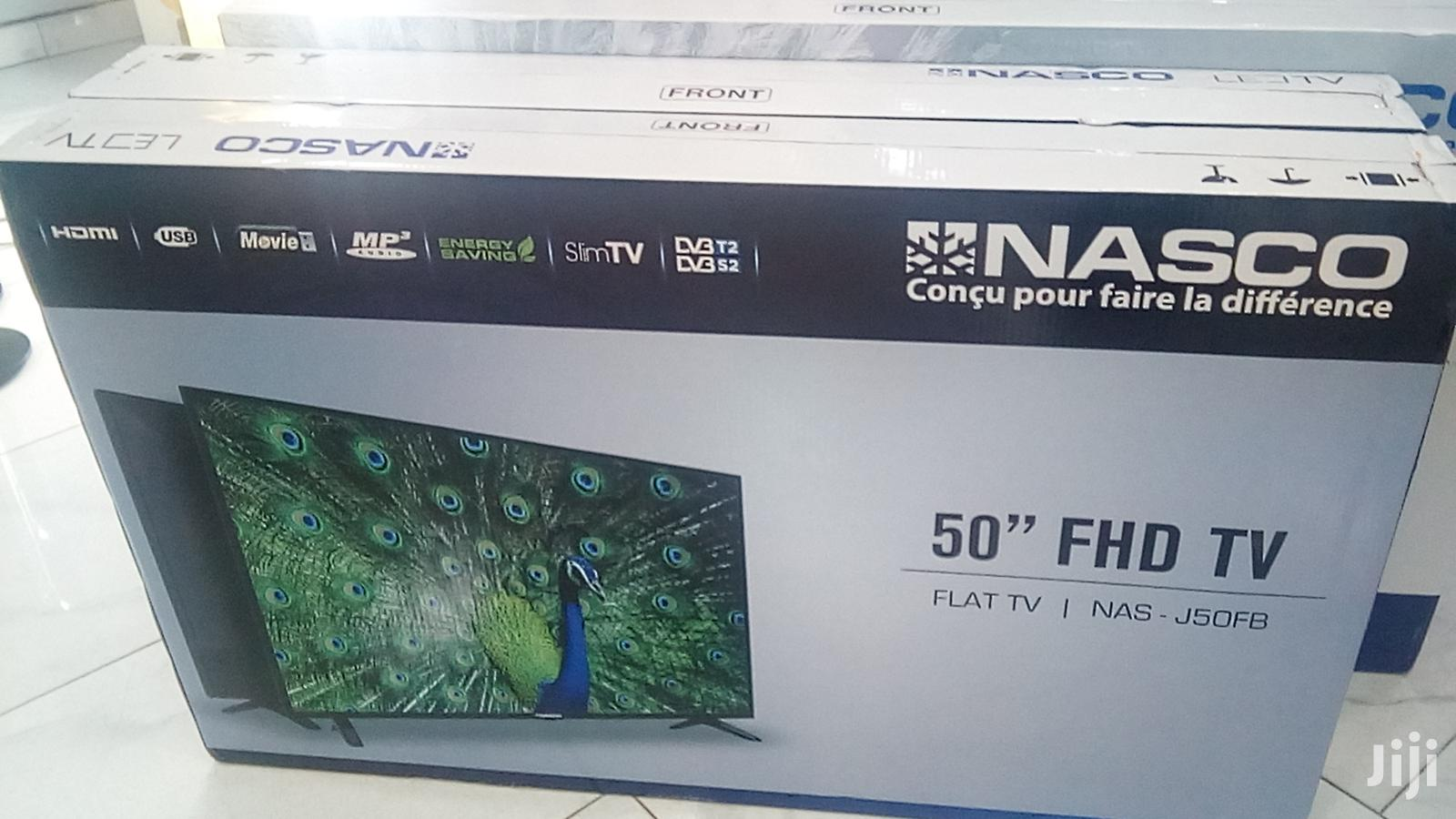 "Nasco 50"" UHD Inches Flat Screen TV | TV & DVD Equipment for sale in Kokomlemle, Greater Accra, Ghana"