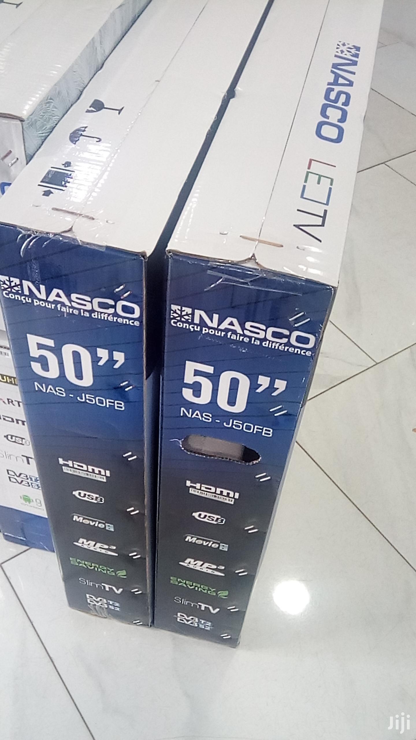 """Nasco 50"""" UHD Inches Flat Screen TV"""