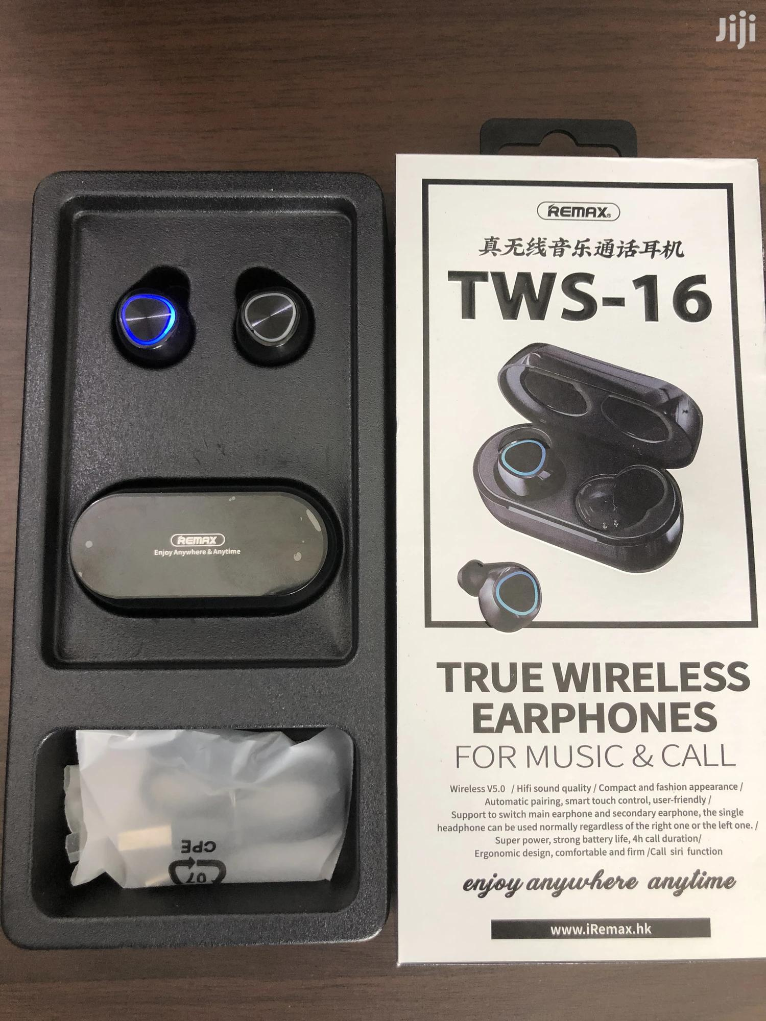 REMAX TWS-16 True Wireless Bluetooth Mega Bass | Headphones for sale in Adabraka, Greater Accra, Ghana