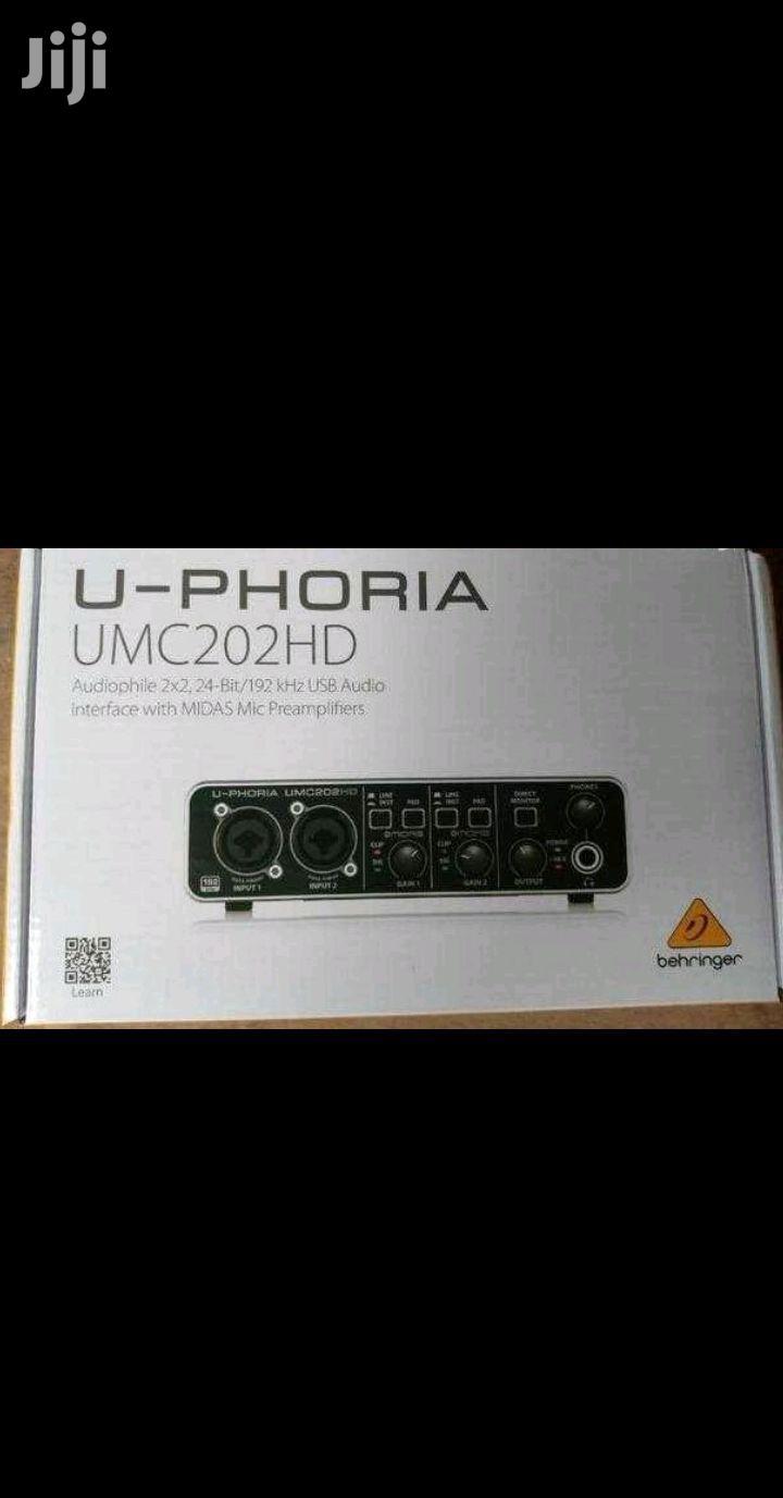 Behringer UMC202HD USB Audio Interface | Audio & Music Equipment for sale in Accra Metropolitan, Greater Accra, Ghana
