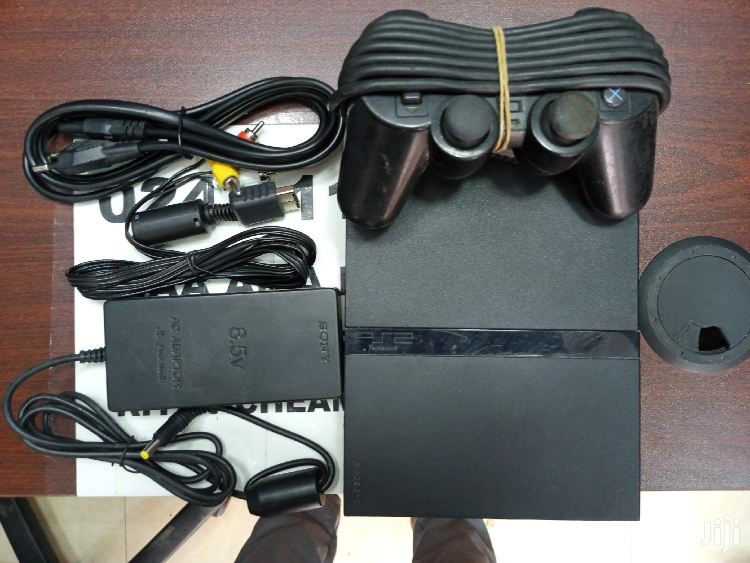 Ps2 Slim With 10 Games | Video Game Consoles for sale in Accra new Town, Greater Accra, Ghana