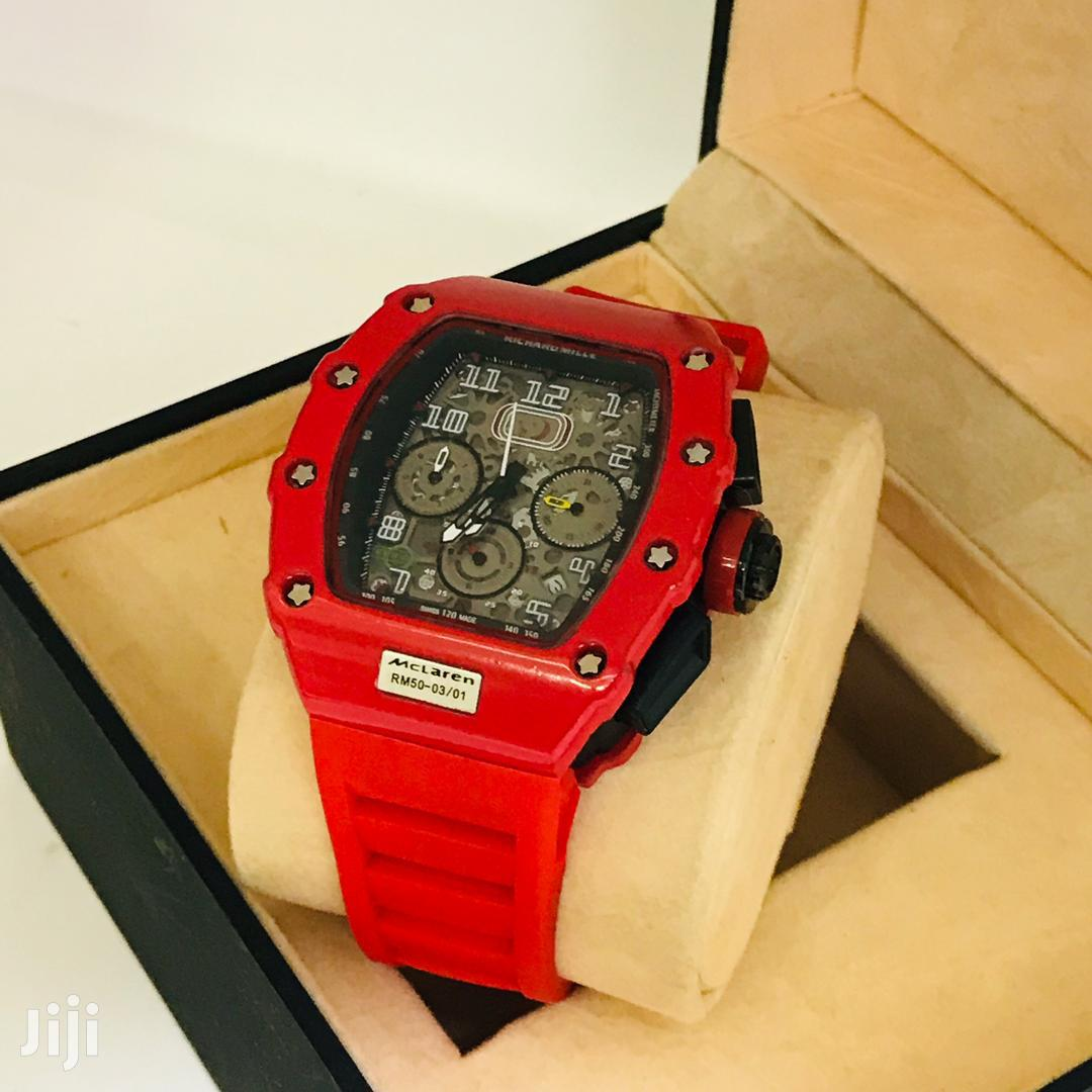 McLaren Branded Fashion Analog Display Chronograph Watch