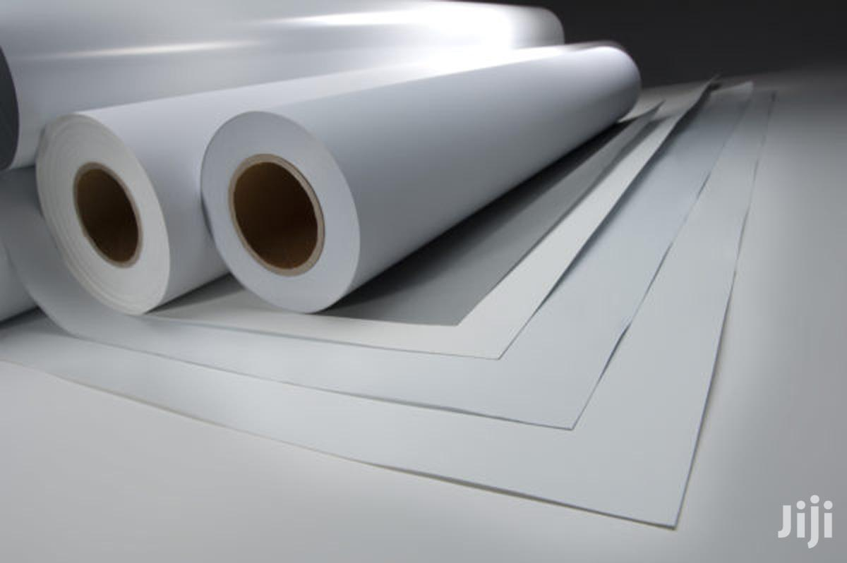 Archive: Large Format Printing Materails