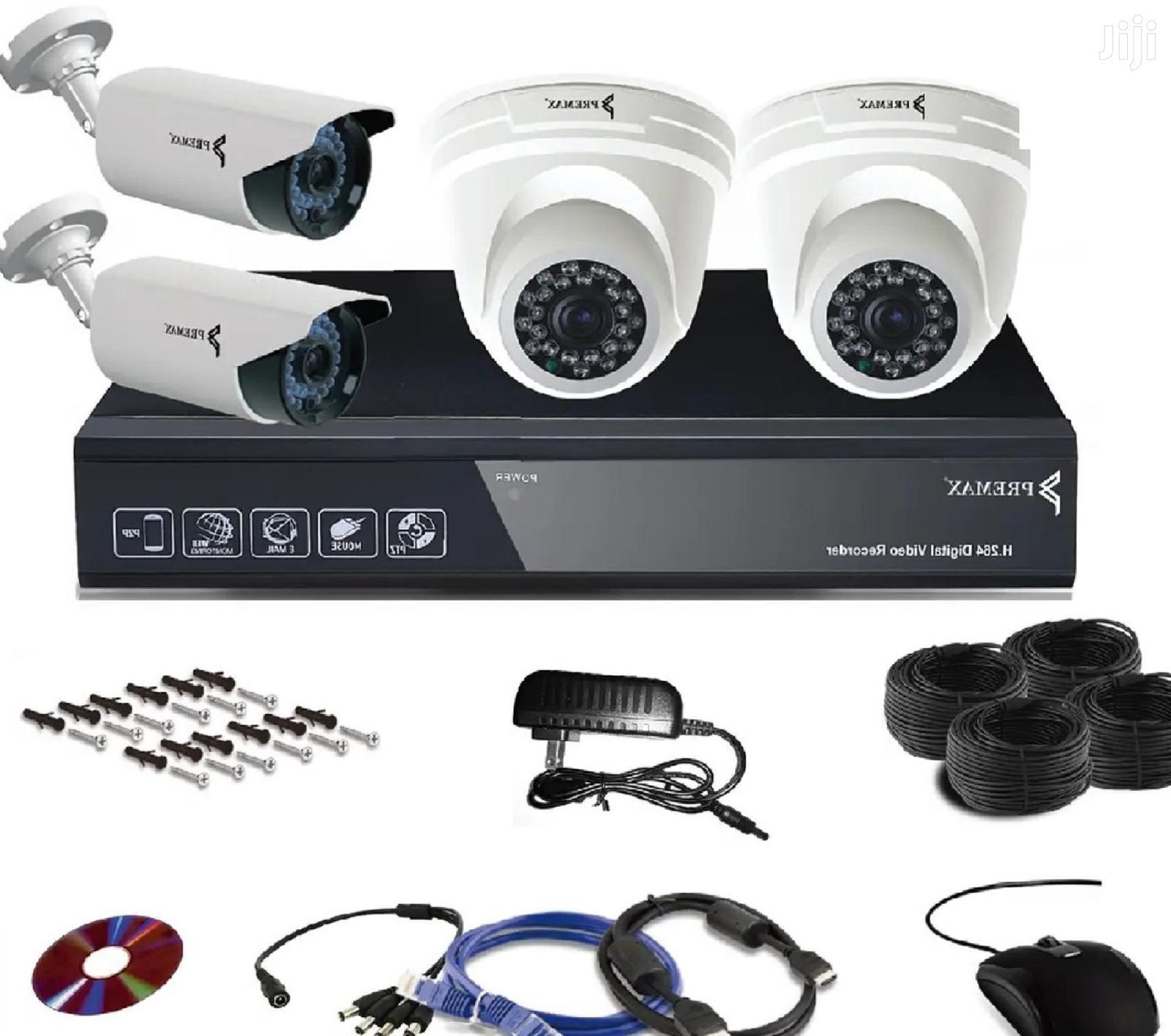 5mp CCTV 4 Channel Camera