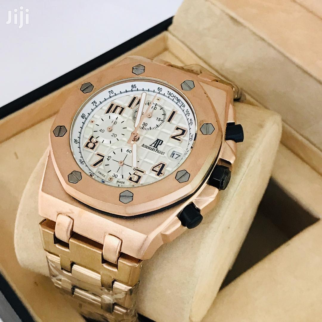 Exclusive Chronograph AP Wristwatch With Chain Strap