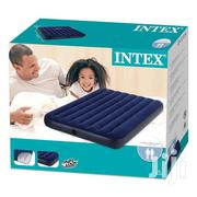Christmas Promo Hurry, Luxurious Intex 2-Person Air Mattress With Pump | Furniture for sale in Greater Accra, Ga South Municipal