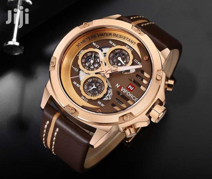 Naviforce 9110 Leather Watch | Watches for sale in Accra Metropolitan, Greater Accra, Ghana