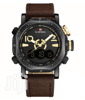 Naviforce 9094 Multifunctional Leather Watch | Watches for sale in Greater Accra, Accra Metropolitan