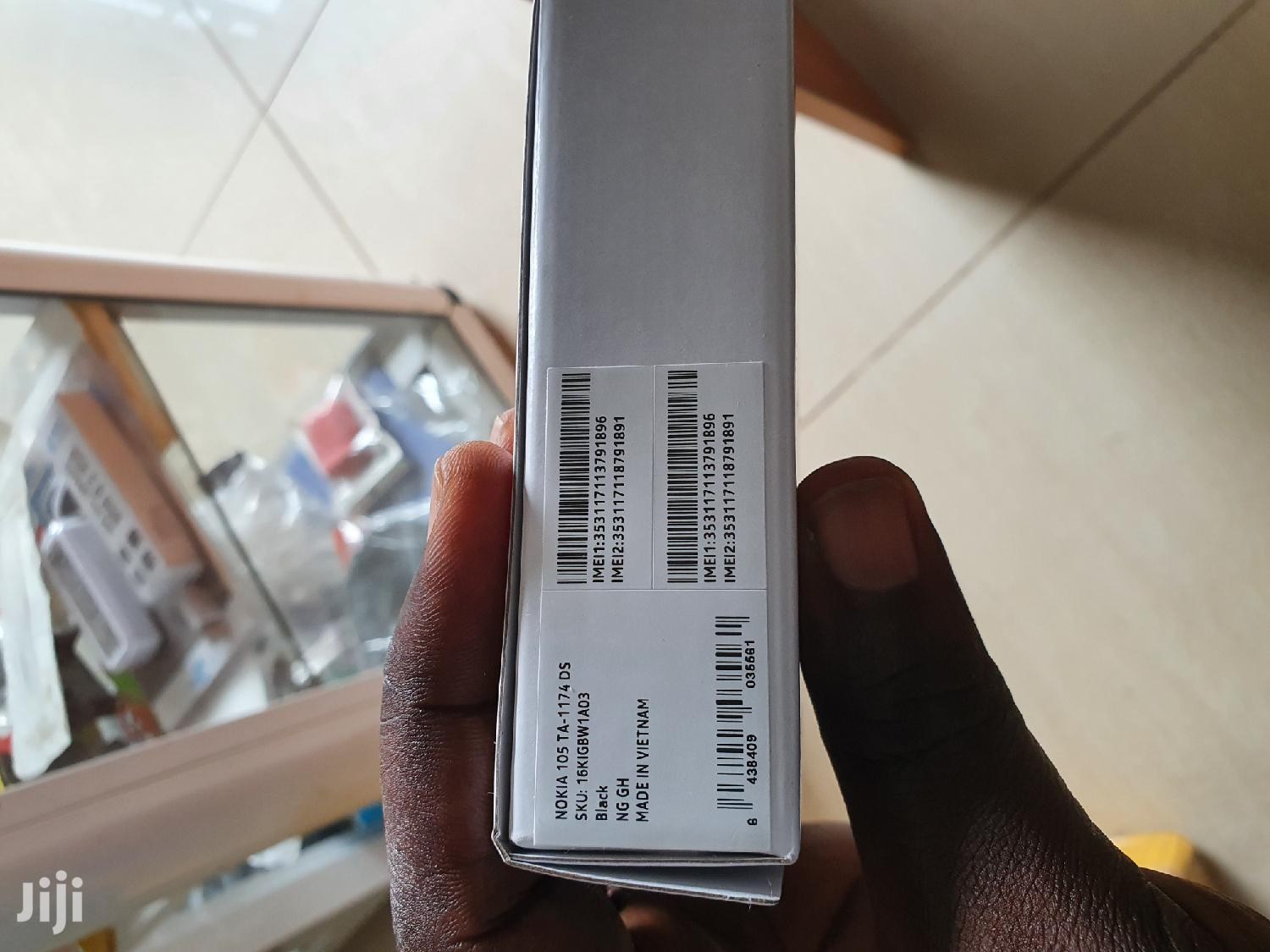 New Nokia 105 Black | Mobile Phones for sale in Ga East Municipal, Greater Accra, Ghana