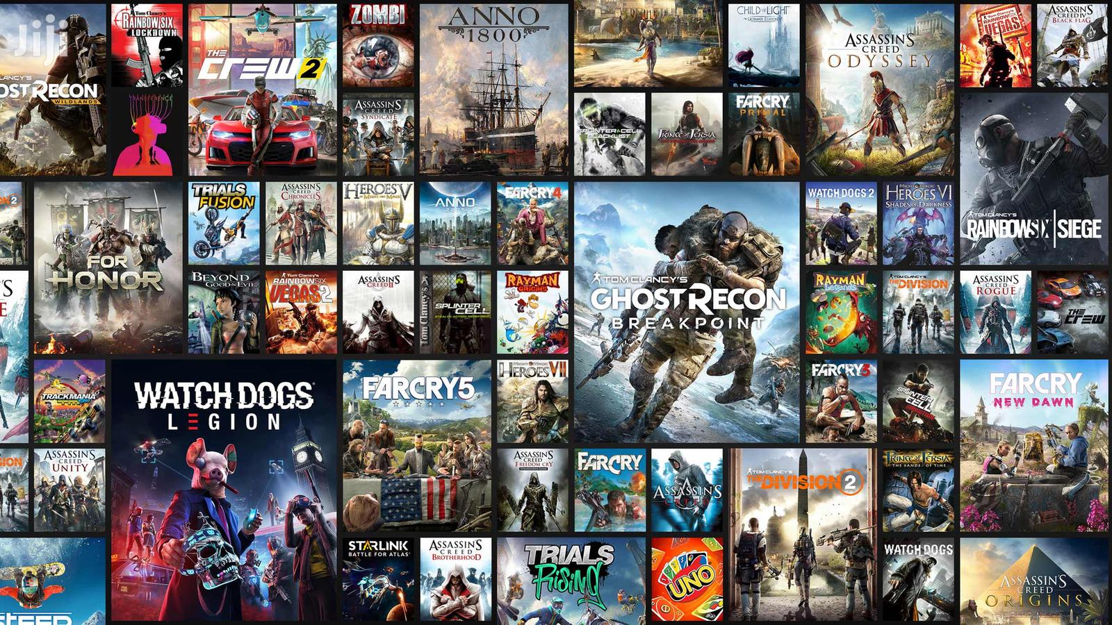 All PC Games Available New Nd Old Ready To Play And Setup | Video Games for sale in Kumasi Metropolitan, Ashanti, Ghana