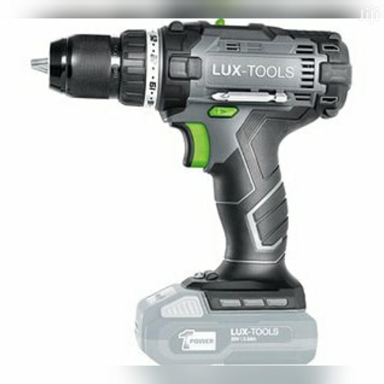 LUX Cordless Drill Screwdriver - 1 Powersystem