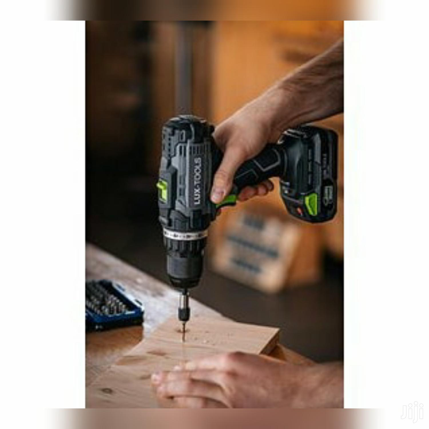 LUX Cordless Drill Screwdriver - 1 Powersystem | Hand Tools for sale in Adenta Municipal, Greater Accra, Ghana