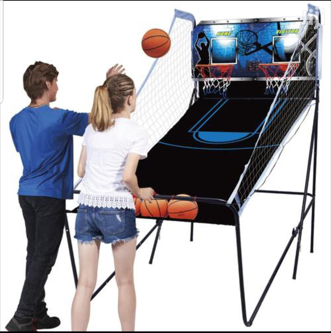 Arcade Basketball Hoop System Stand Electronic Goal