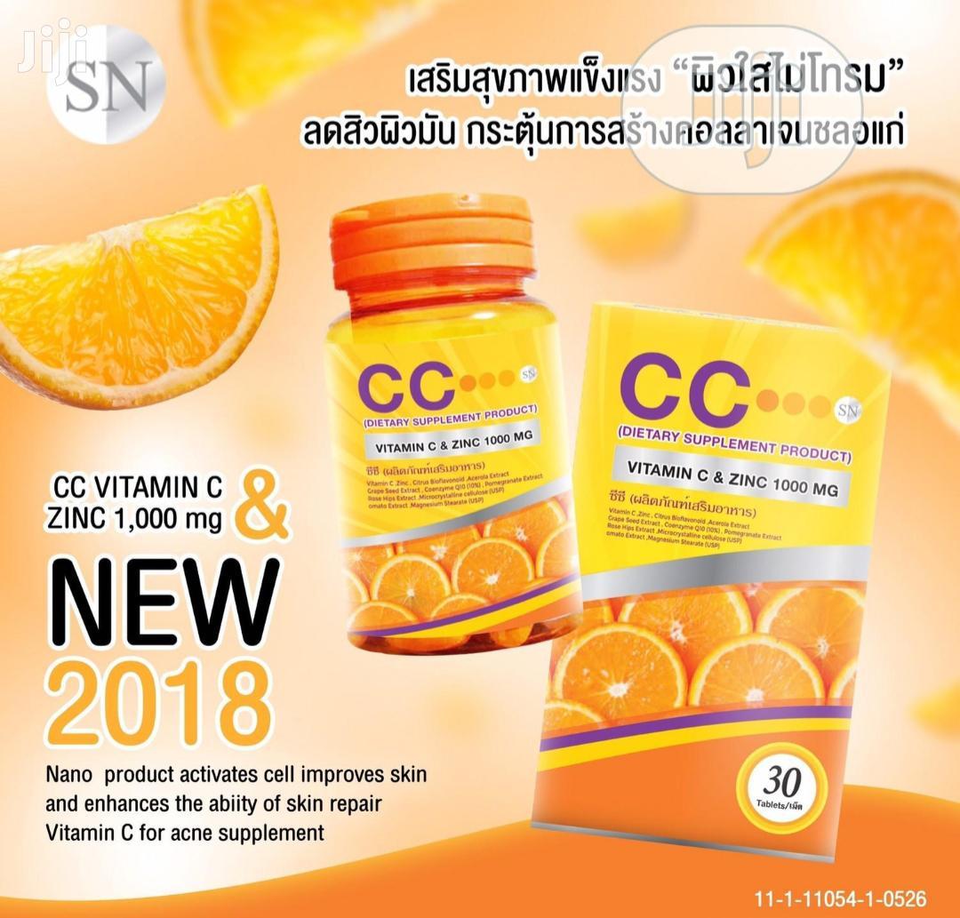 CC Nano Vitamin C and Zinc 1000mg Complex Brightening C Skin