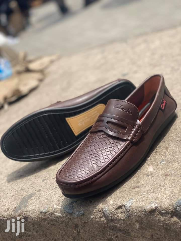 Clarks Brown Leather Men's Loafers | Shoes for sale in Ga East Municipal, Greater Accra, Ghana