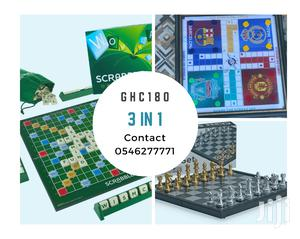 Ludo, Scrabble and Chess. 3 in 1 | Books & Games for sale in Greater Accra, Accra Metropolitan