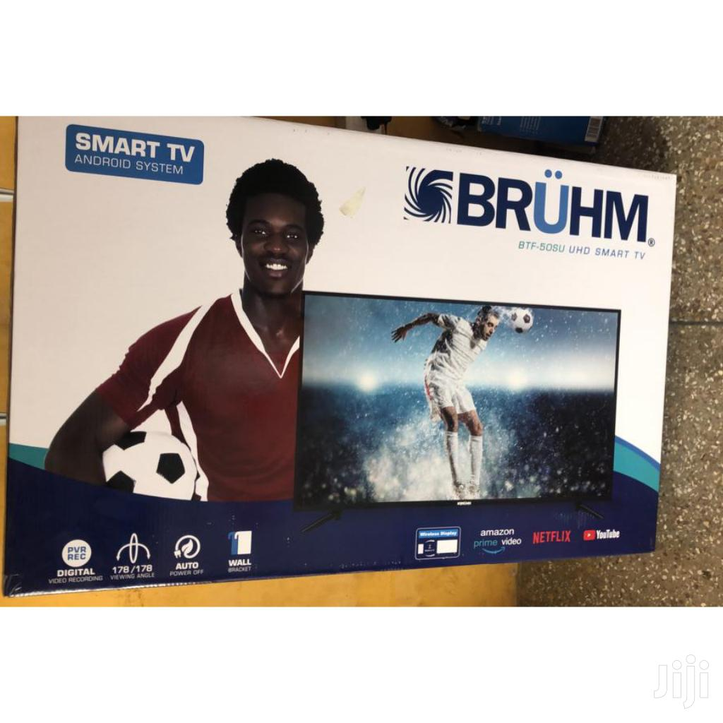 "Bruhm 50"" Android Smart Digital Satellite LED TV 