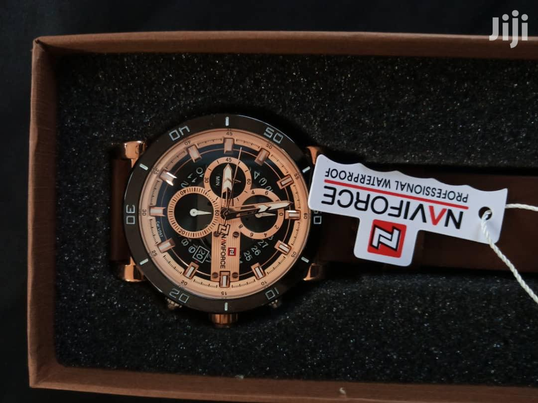 NAVIFORCE Chronograph Military Watch