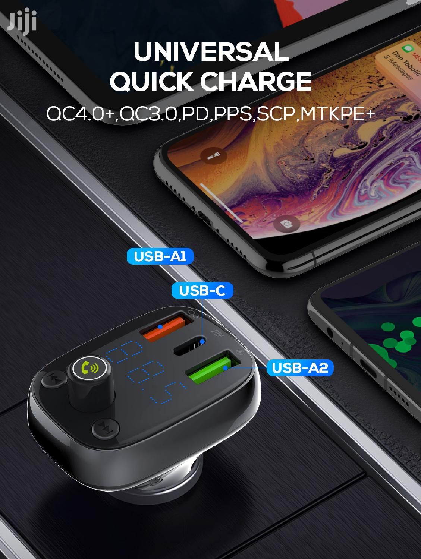 LNDIO Bluetooth Carkit With USB C Output