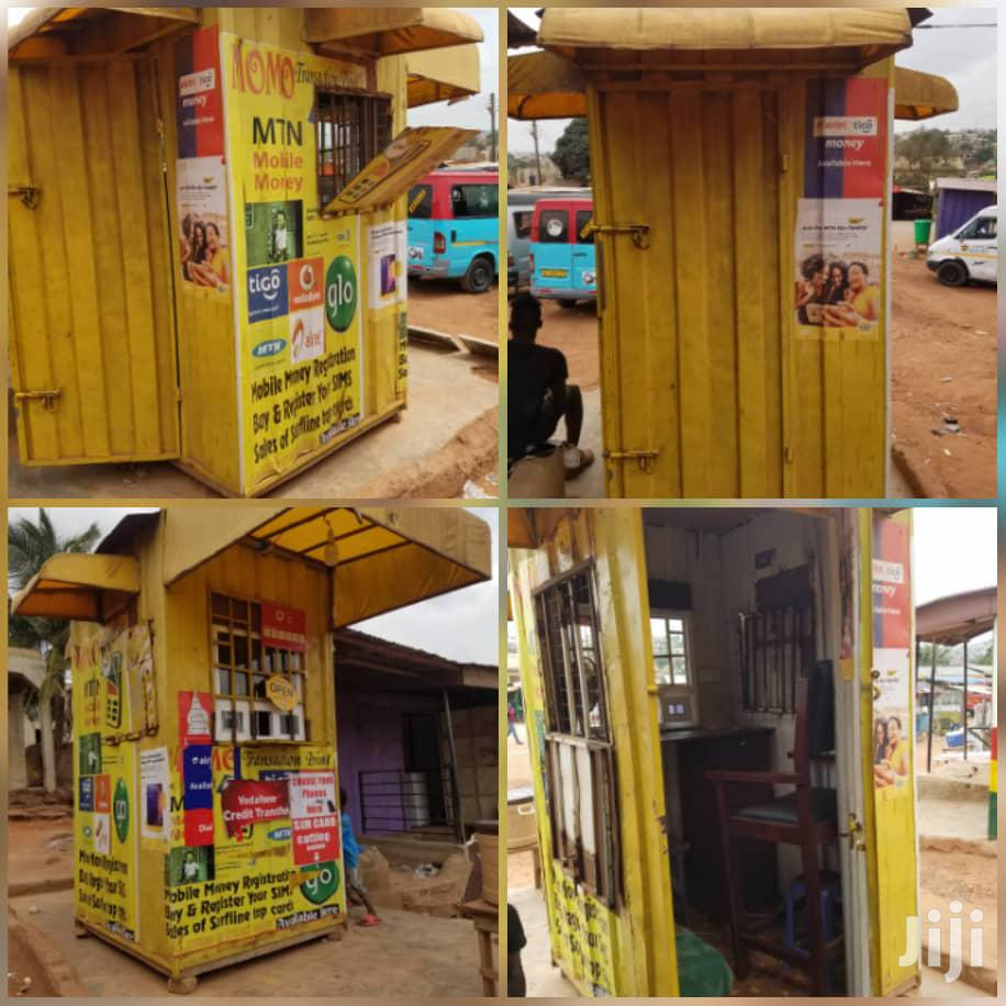 4×4 Mobile Money Container For Sale | Commercial Property For Sale for sale in Ga West Municipal, Greater Accra, Ghana