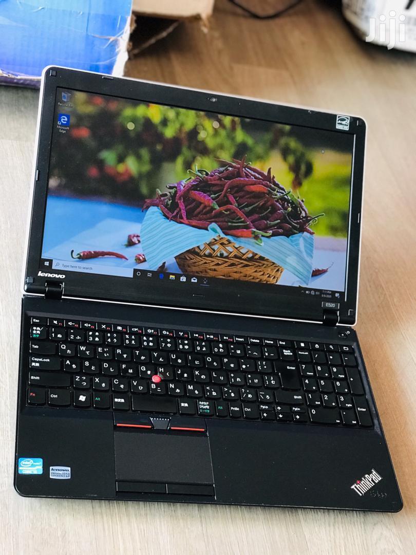 Archive: Laptop Lenovo ThinkPad Edge E520 4GB Intel Core I5 320GB