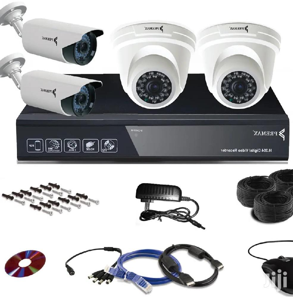 4 Channel CCTV Camera 2mp