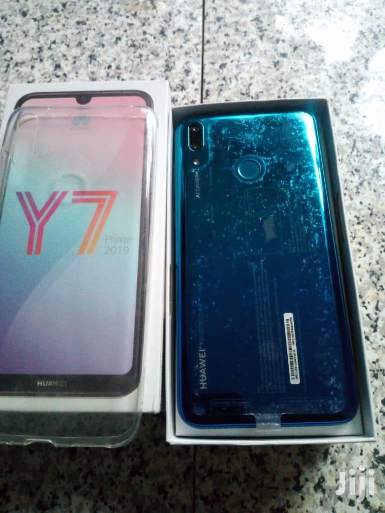 New Huawei Y7 32 GB Blue | Mobile Phones for sale in Nungua East, Greater Accra, Ghana