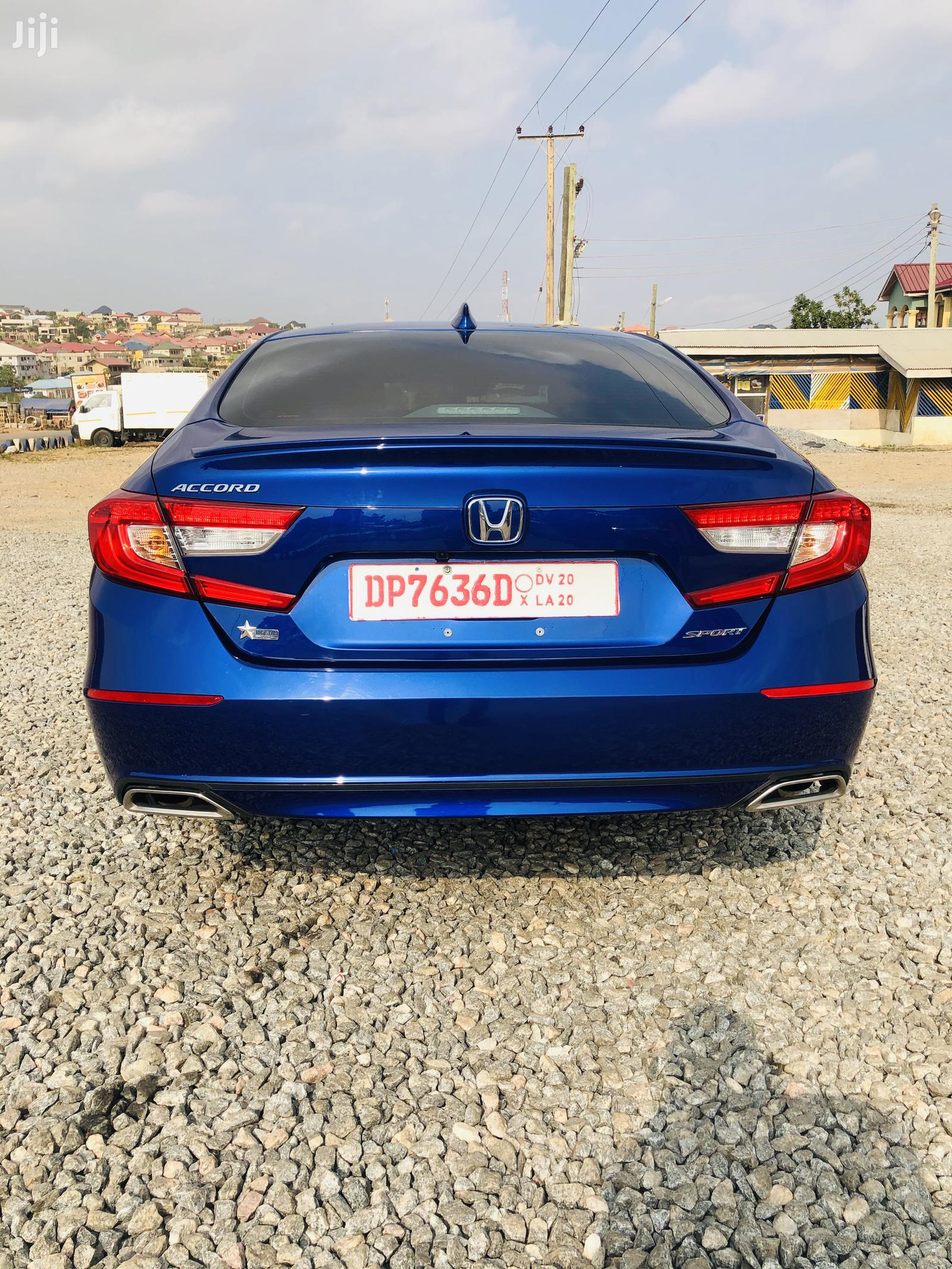 Archive: Honda Accord 2019 Blue