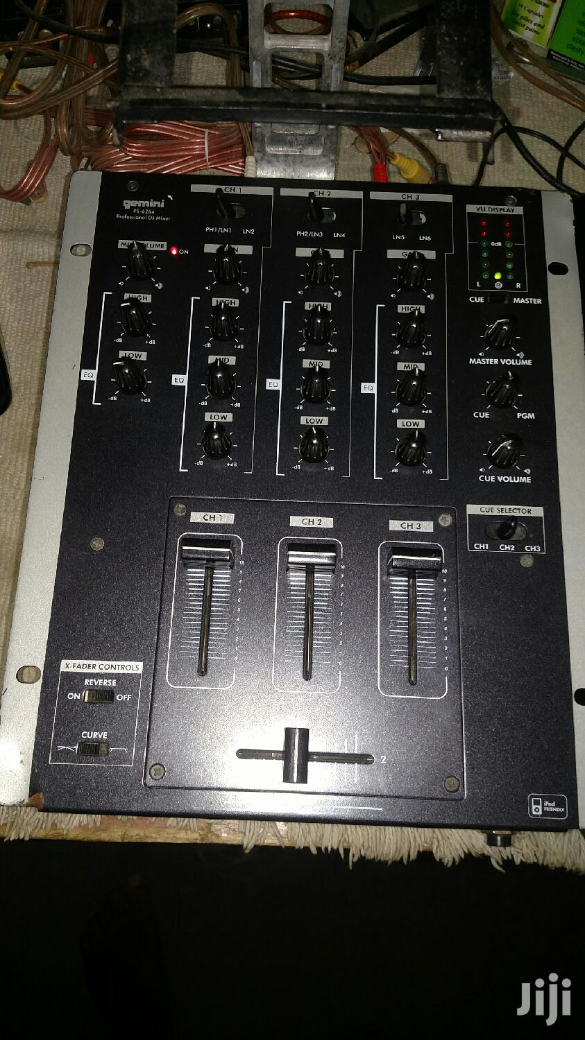 Gemini Ps 262, 3 Channel DJ Mixer | Audio & Music Equipment for sale in Achimota, Greater Accra, Ghana