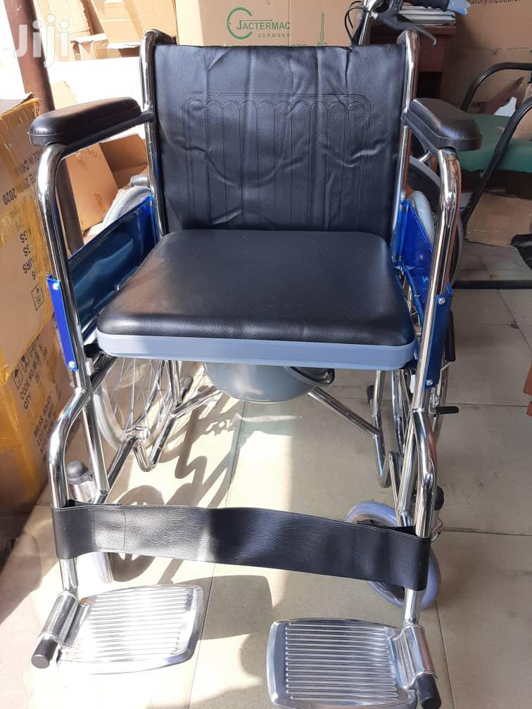 Shortback Commode Wheelchair