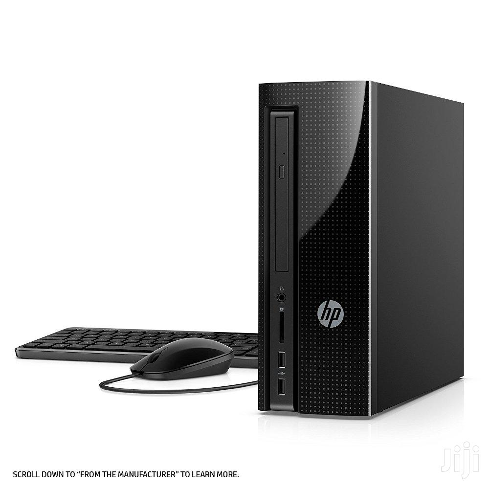 New Desktop Computer HP Pavilion 27 4GB Intel Celeron HDD 500GB | Laptops & Computers for sale in Accra new Town, Greater Accra, Ghana