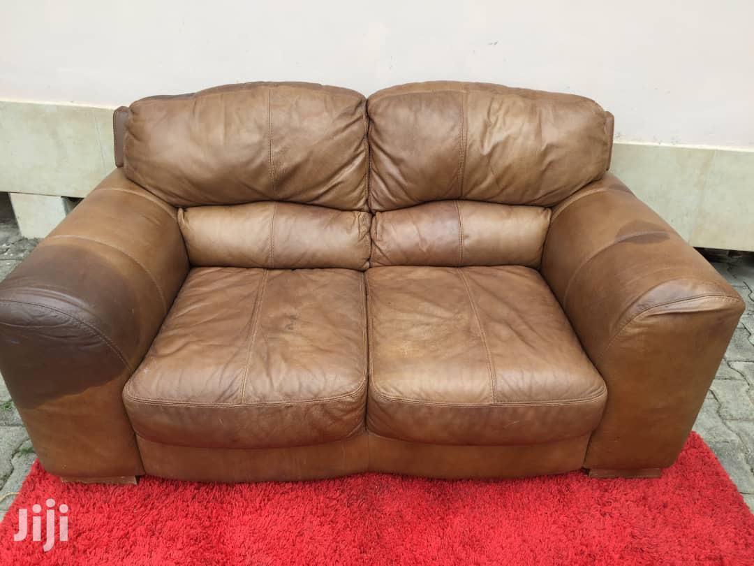 Quality Leather Sofa | Furniture for sale in Awutu Senya East Municipal, Central Region, Ghana