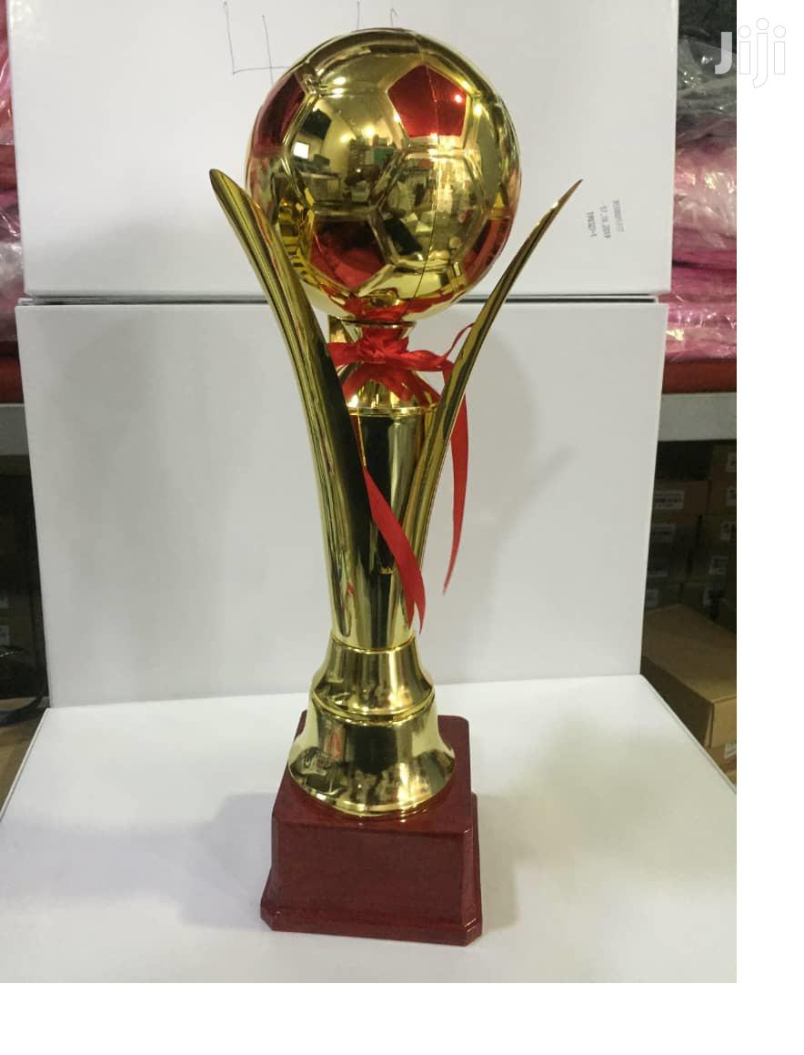 Sports Gold Trophy