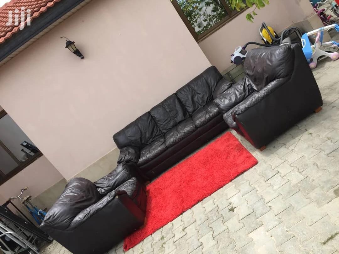 Full Set Black Sofas