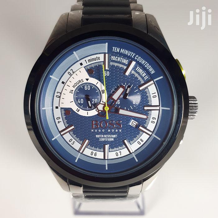 Hugo Boss Mens Authentic Watch