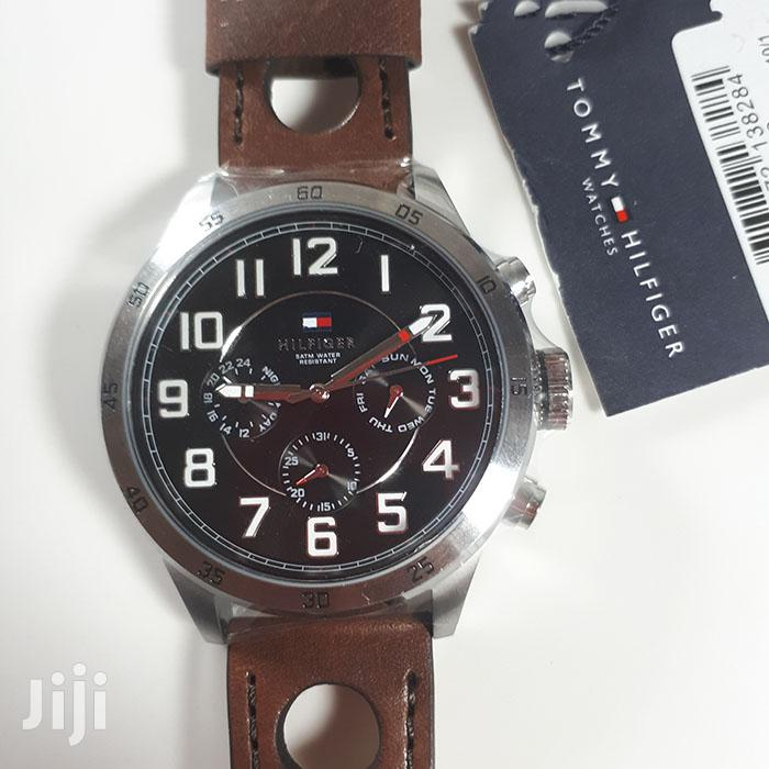 Tommy Hilfiger Authentic Genuine Leather Watch