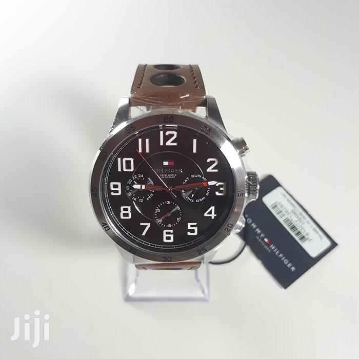 Tommy Hilfiger Authentic Genuine Leather Watch | Watches for sale in Ashaiman Municipal, Greater Accra, Ghana