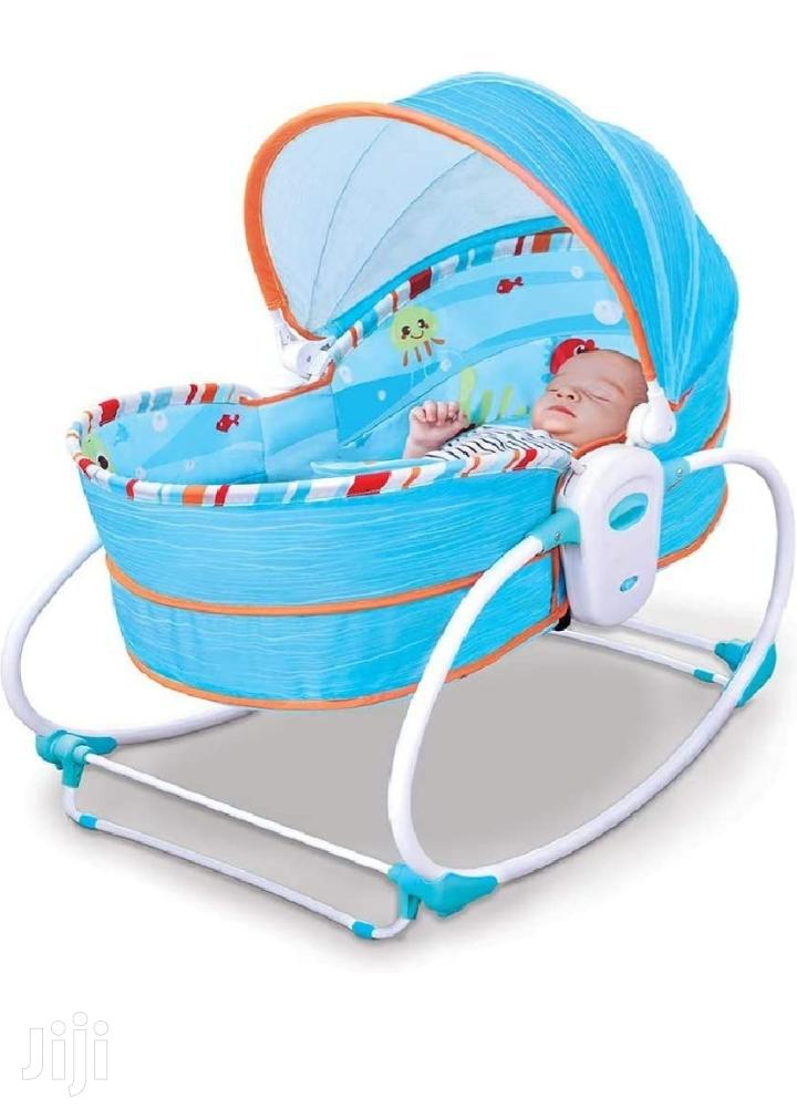 5 in 1 Baby Bassinet Bouncer With Mosquito Net | Children's Furniture for sale in Adabraka, Greater Accra, Ghana
