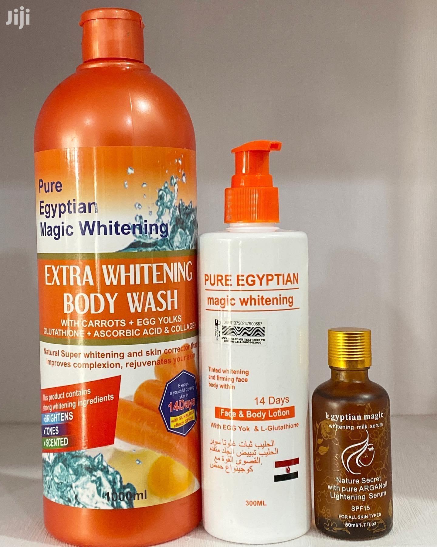 Egyptian Whitening Set