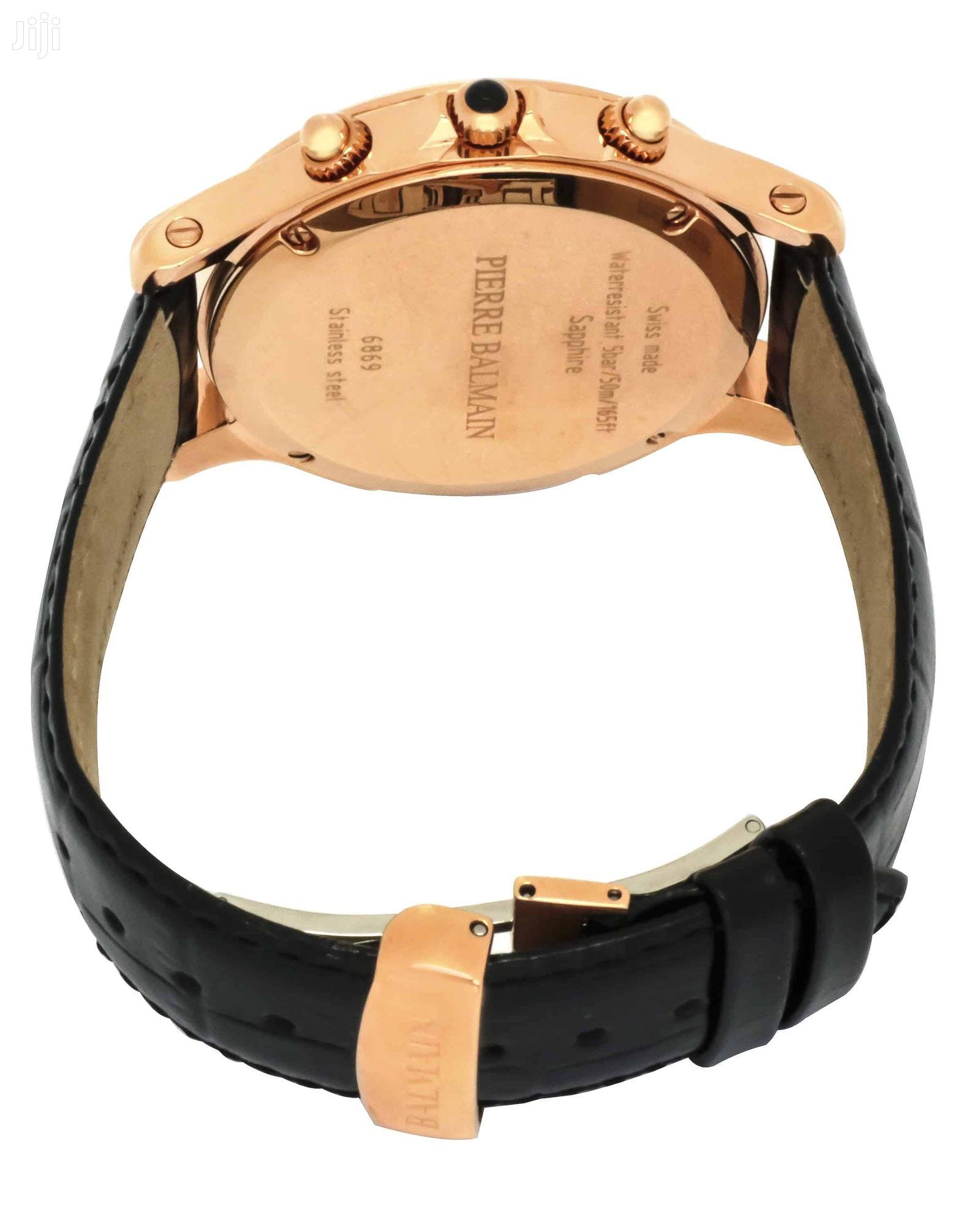 Balmain Eria Chrono Gent Round Men's Quartz Watch | Watches for sale in Abelemkpe, Greater Accra, Ghana