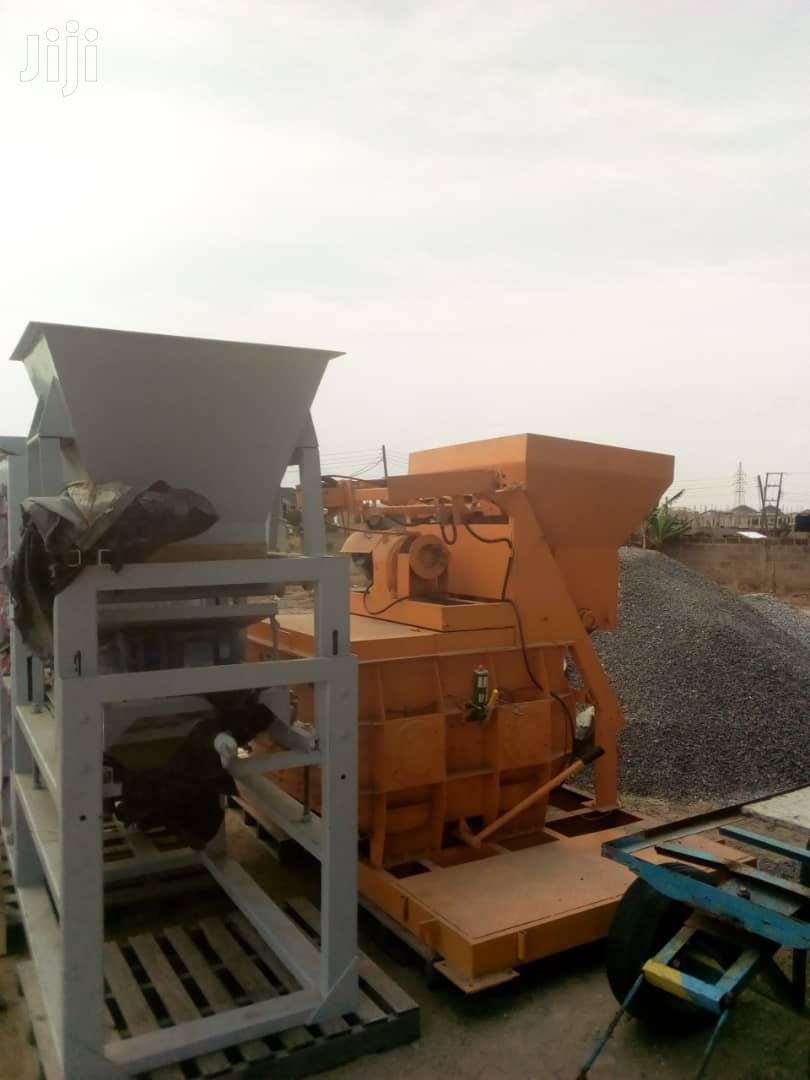 Automatic 6unit Block Manufacturing Machine For Sale | Manufacturing Equipment for sale in Tema Metropolitan, Greater Accra, Ghana