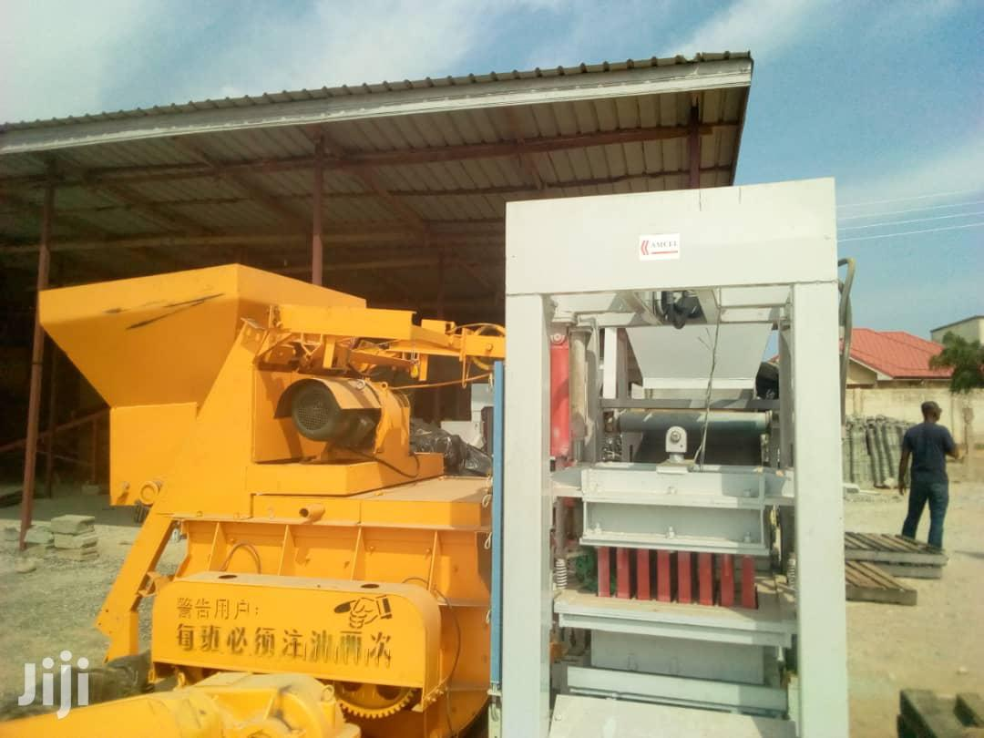 Automatic 6unit Block Manufacturing Machine For Sale
