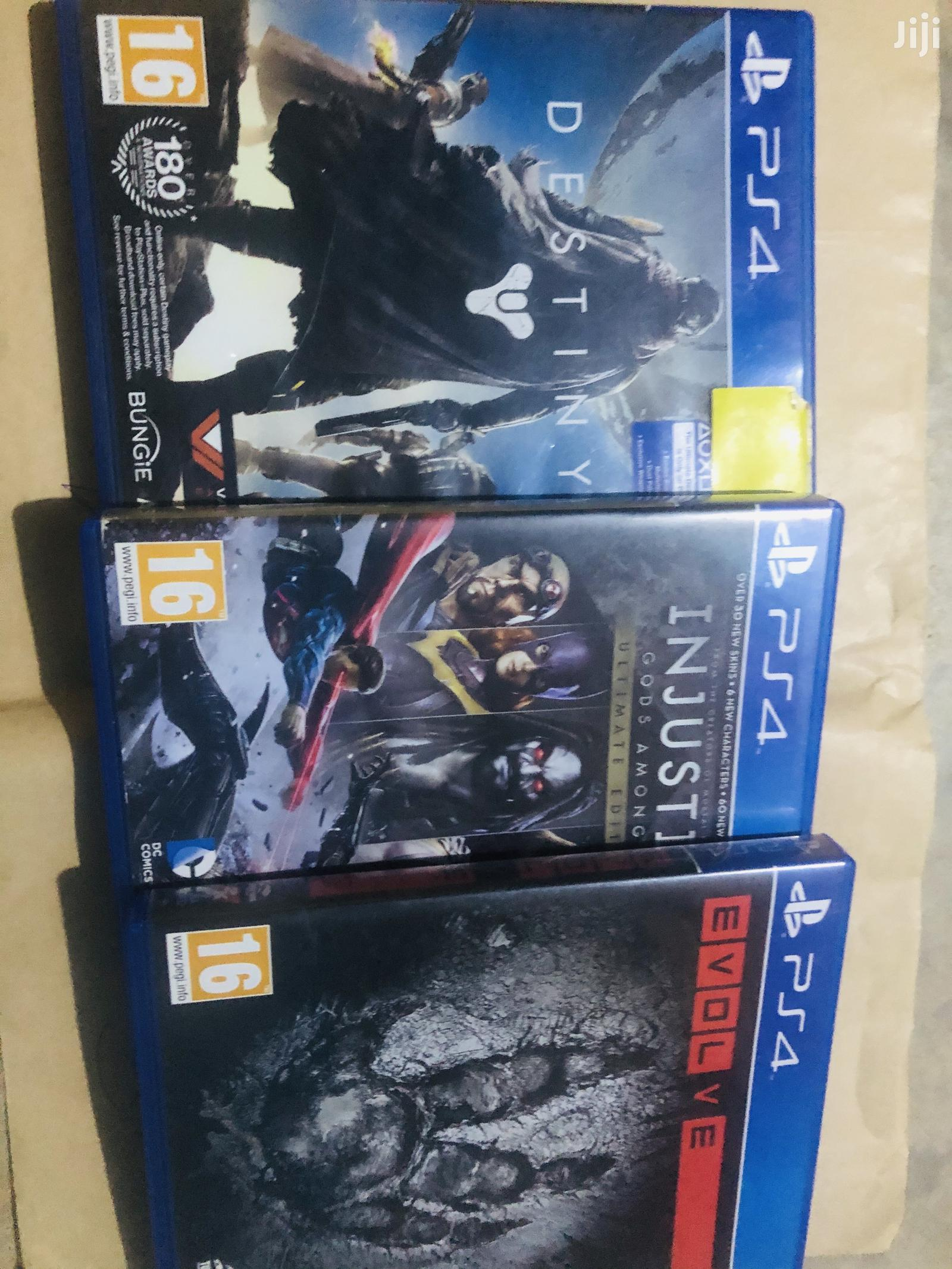 PS4 Cd  All 3 Going for a Cool Price | Video Games for sale in Kumasi Metropolitan, Ashanti, Ghana
