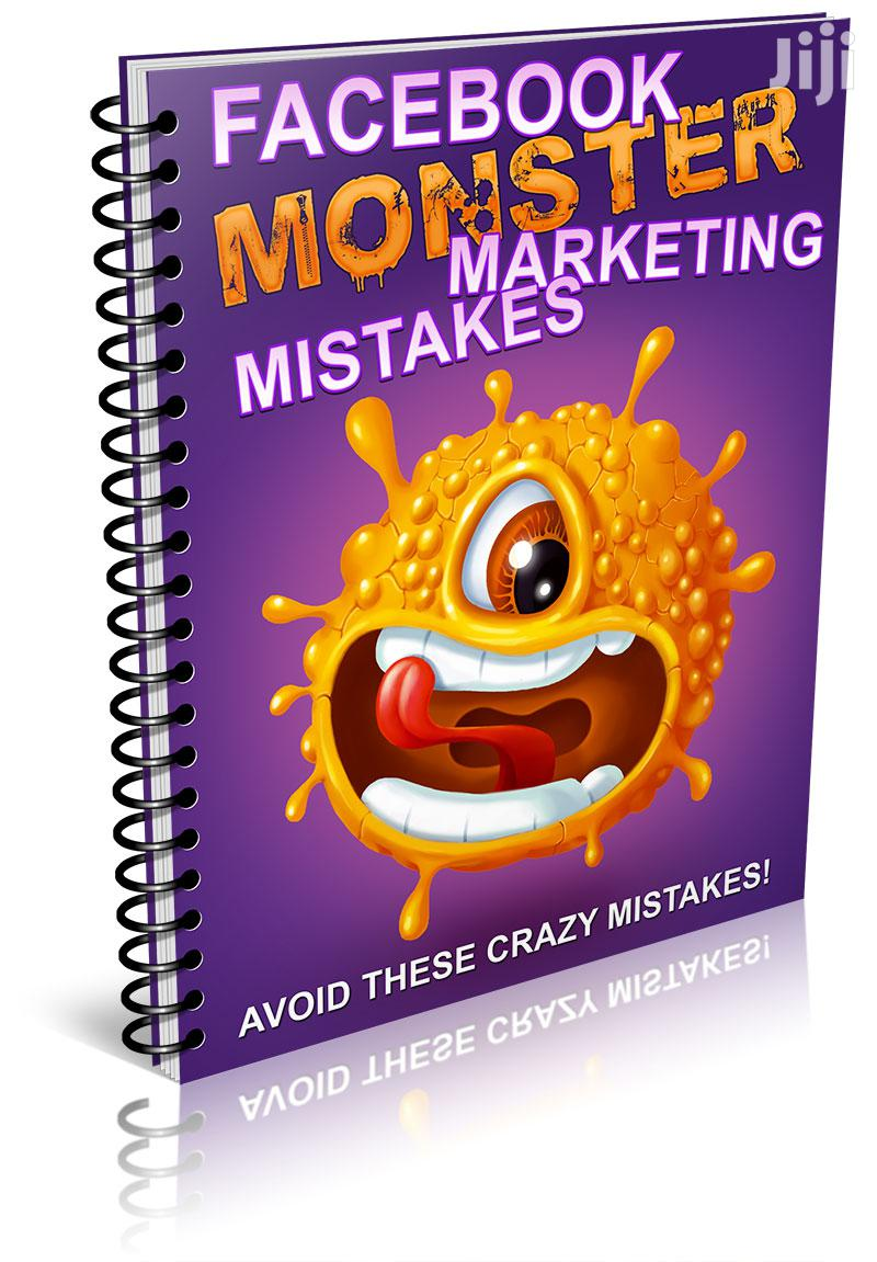 Facebook Monster Marketing Mistakes. | Books & Games for sale in Ga East Municipal, Greater Accra, Ghana
