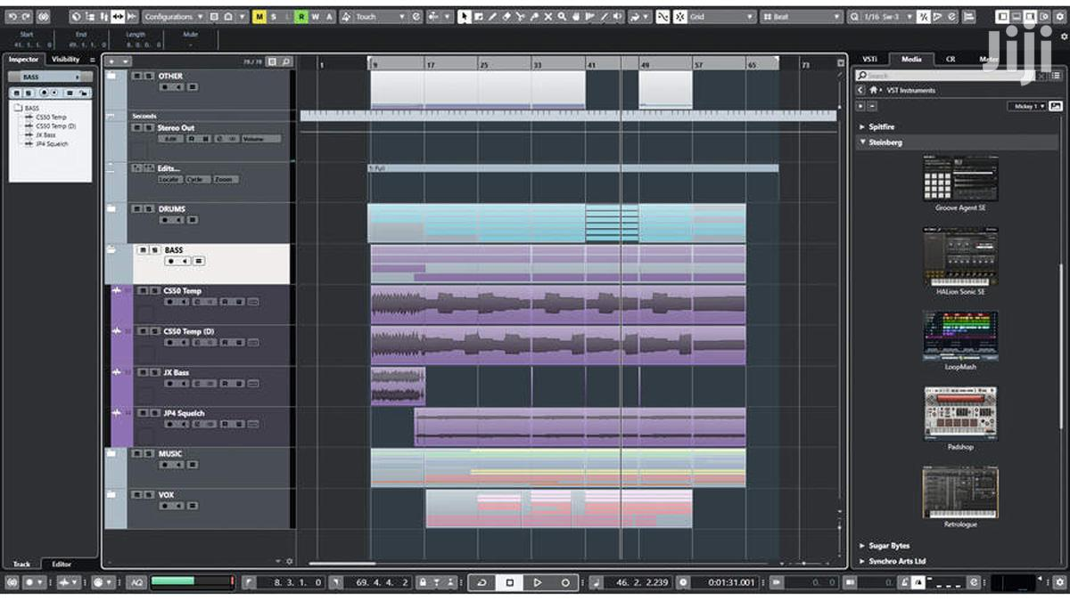 DAW Steinberg Cubase 10 (Working) | Software for sale in Achimota, Greater Accra, Ghana