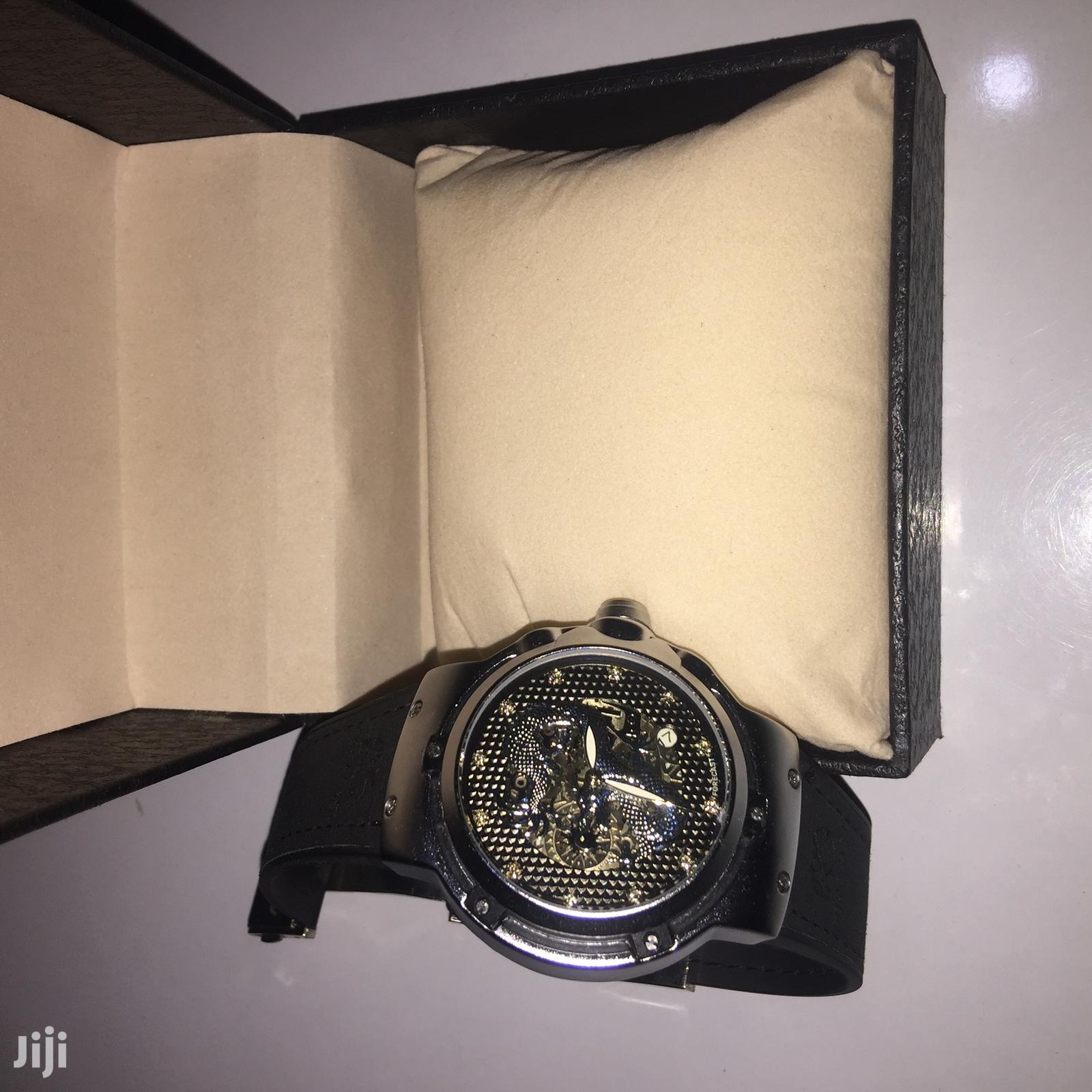 Forecast Leather Watch   Watches for sale in Accra Metropolitan, Greater Accra, Ghana
