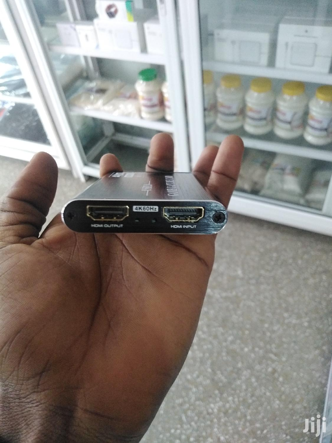 Game Capture Card 3.0 USB | Computer Accessories  for sale in Adabraka, Greater Accra, Ghana