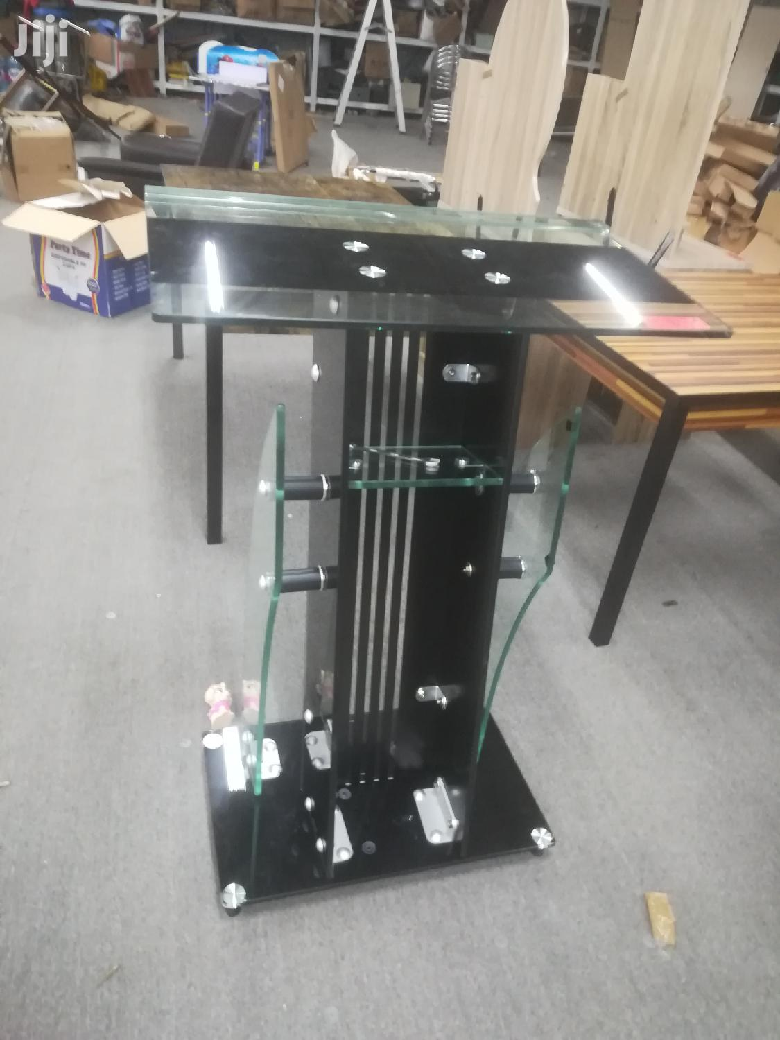 Tempered Glass Pulpit | Furniture for sale in Accra Metropolitan, Greater Accra, Ghana